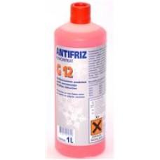 Antifirz G12 koncentrat rdeč 1L