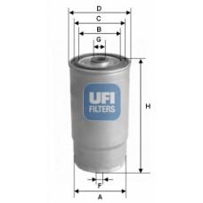 filter goriva UFI 24.379.00
