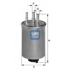 filter goriva UFI 24.409.00