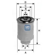 filter goriva UFI 24.452.00