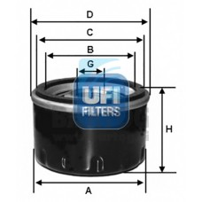 filter olja UFI 23.105.00
