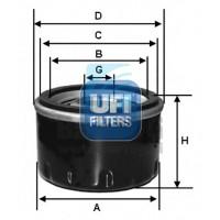 filter olja UFI 23.299.00