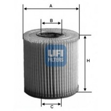 filter olja UFI 23.107.01