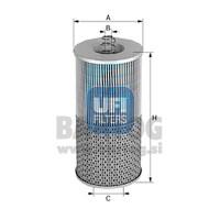 filter olja UFI 25.423.01