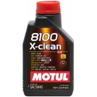 Olje Motul 8100 X-Clean C3 5W40 1L