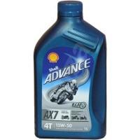 Olje Shell Advance 4T AX7 15W50 1L