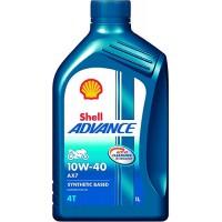 Olje Shell Advance 4T AX7 10W40 1L